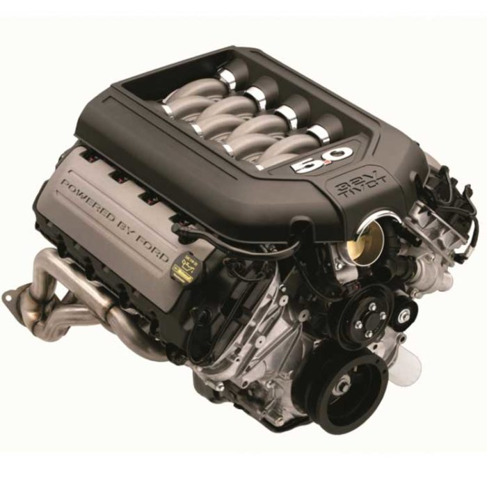 M-6007-A50NAA Ford Mustang Engine - 5.0L DOHC Aluminator Engine